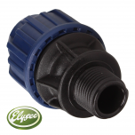 "MDPE Adaptor Male 2 0 X 1/2"" (SP)"