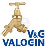 "V&G 1/2"" Hose Union Bibcock c/w Double Check Valve"