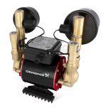 Grundfos Amazon STN-2.0B Brass Universal 2.0 Bar Twin Impeller Shower Pump