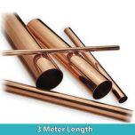 Copper Tube 15mm (3 Metre Length)