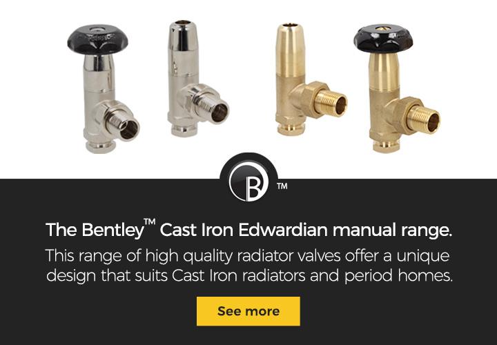 The Bentley Cast Iron Edwardian manual range